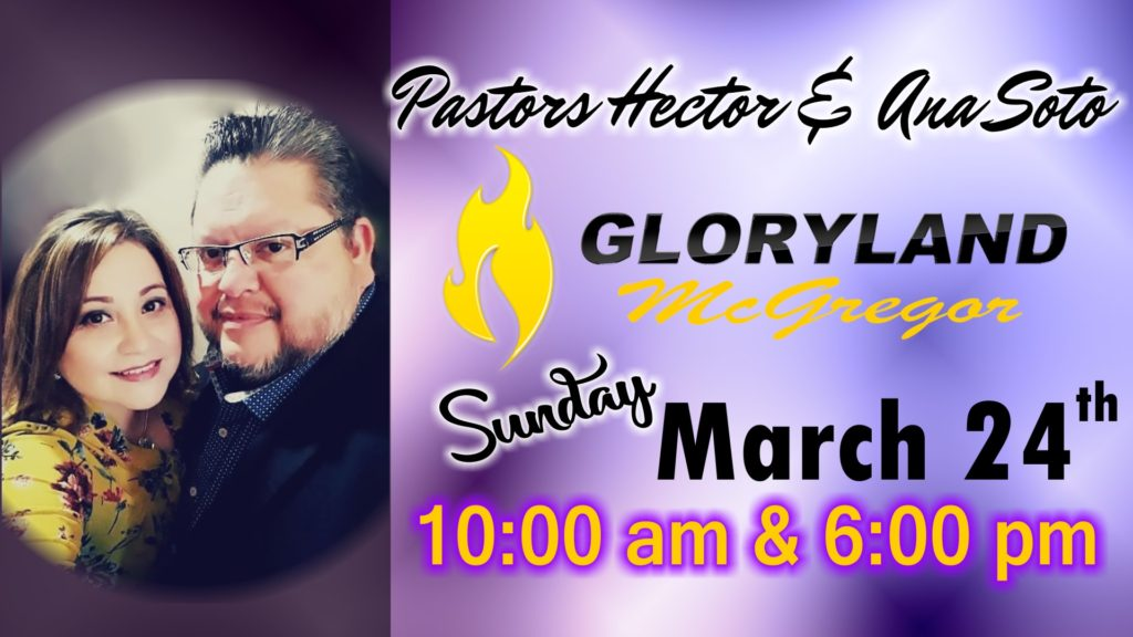 Hector Soto, Gloryland Church, Gloryland Church Waco, Gloryland Church McGregor